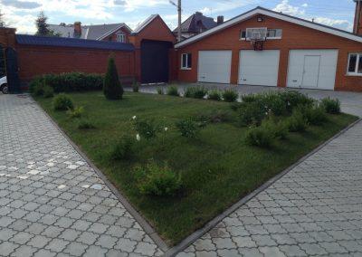 Укладка газона, Царицыно
