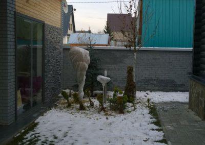 Укрытие растений на зиму, Ильинское