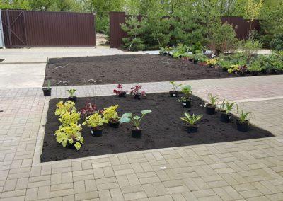 Посадка цветов на участке — Большие Кабаны