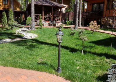 Стрижка газона — Боровое Матюшино