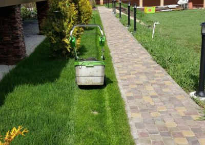 Стрижка газона — Габишево