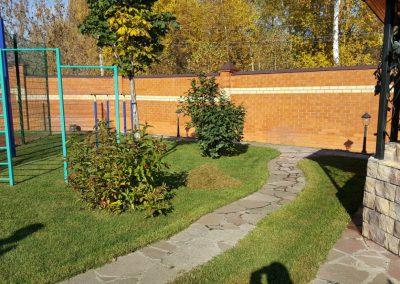Прочесывание газона — Вороновка