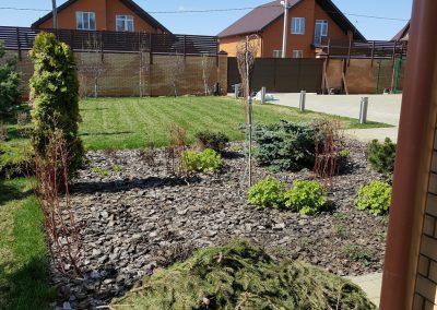Прочесывание газона, подготовка участка к сезону — Кабаны