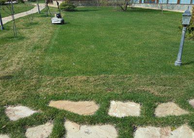 Прочесывание и обслуживание газона — Кульсеитово