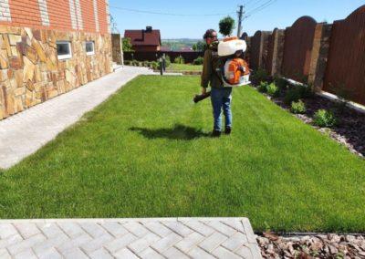 Обработка газона от сорняков — Салмычи