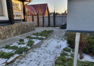 Укрытие растений на зиму — Село Ильинское