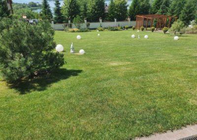 Стрижка газона на участке загородного дома — Введенская Слобода