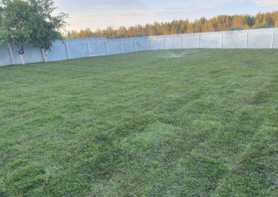 Подготовка участка и укладка газона — Габишево